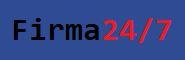 Logo Firma24-7_hintergrund blau