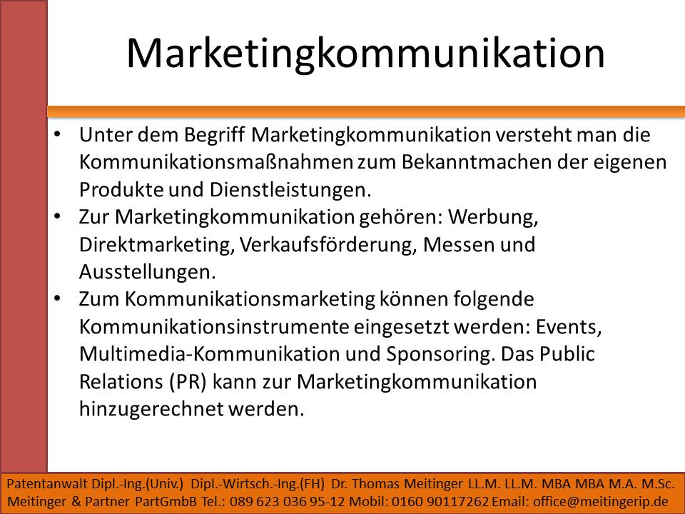 Marketingkommunikation
