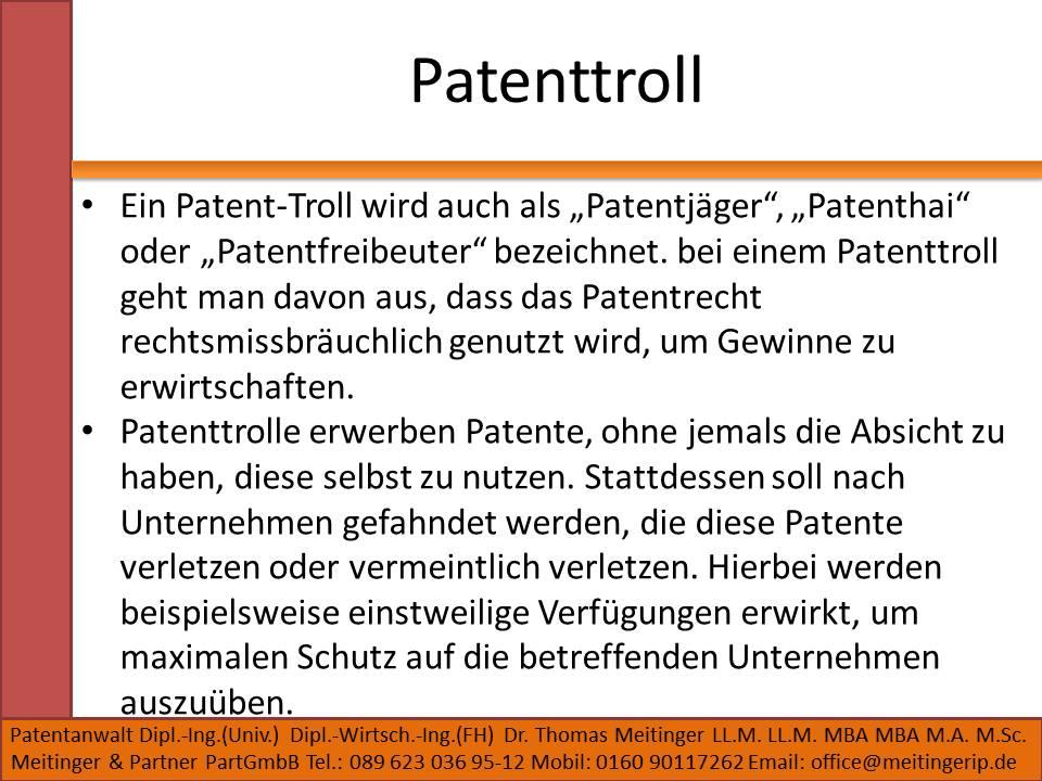 Patenttroll