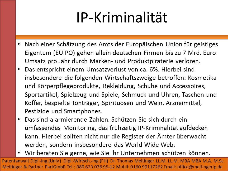 IP-Kriminalität